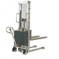 Elektrischer Edelstahl-Hochhubstapler EHS1000 Semi